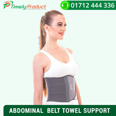 ABDOMINAL BELT TOWEL SUPPORT