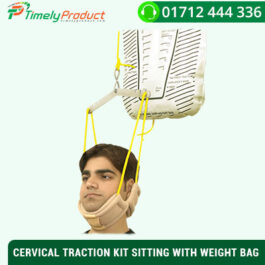 CERVICAL TRACTION KIT SITTING WITH WEIGHT BAG