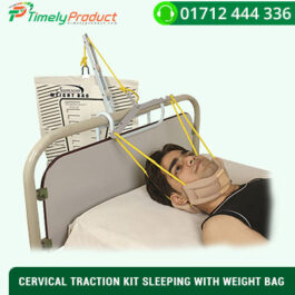 CERVICAL TRACTION KIT SLEEPING WITH WEIGHT BAG