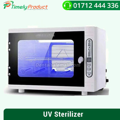 10L UV + Ozone Sterilizer Disinfection Cabinet Ultraviolet Tool Sanitizer Box + 1Pcs Replacement Bulb