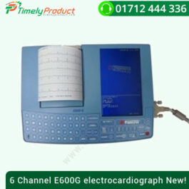 6 Channel E600G electrocardiograph New!