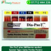 Dia-ProT plus (Millimeter marked Special Taper Gutta Percha Points)