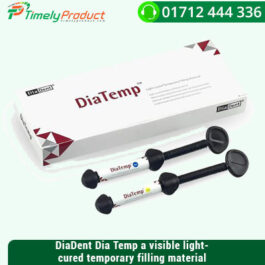 DiaDent Dia Temp a visible light-cured temporary filling material