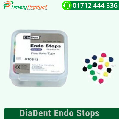 Contains 120 Assorted Round Stops Fills all handes files Easy to use Contains: 120 x Endo Stops
