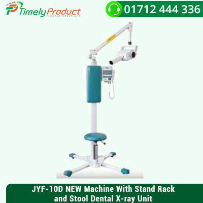 JYF-10D-NEW-Machine-With-Stand-Rack-and-Stool-Dental-X-ray-Unit