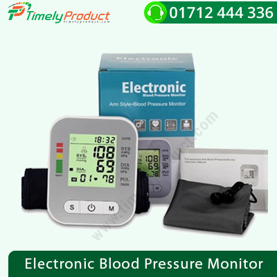 Electronic Blood Pressure Monitor-1