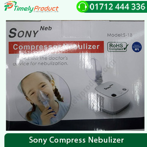 Sony Compress Nebulizer-1