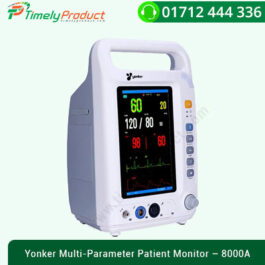 Yonker Multi-Parameter Patient Monitor – 8000A