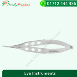 IndoWebal Corneal Scissor ( Crv. / Angled ) (Big / Small ) SS
